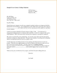 High School Student Summer Jobs Resume Cover Letter Examples For High School Students Sample College