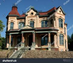 Second Empire Architecture Victorian House United Stock