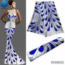 liulanzhi royal blue african dutch wax fabric 100 cotton dutch high quality prints 6yards ml9h1701 ml9h1727