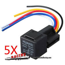 12v 30 40 amp car 5 wire terminal relay socket h tutiendaracing 12v 30 40 amp car 5 wire terminal relay socket harness wiring