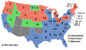 Us Presidential Election Chart 1892 United States Presidential Election Wikipedia