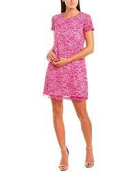 Cece By Cynthia Steffe Womens Kayte S S Tweed Shift Dress