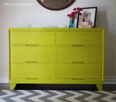A Chartreuse Nursery Dresser for Iris and Isla   Christina D ...