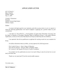 Awesome Collection Of Application Letter For Fresh Graduate
