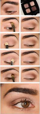 natural brown eyeshadow