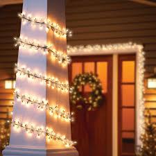 Decorative Lights Walmart Holiday Time Garland Light Set Green Wire Clear Bulbs 200 Count Walmart Com
