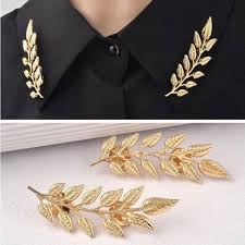 <b>2016 New Arrival Exquisite</b> Fashion Leaf Brooch Brooch , Europe ...