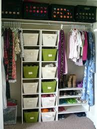 organizing ideas for closets affordable organized closet makeover