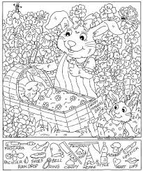 Small Picture Hidden Pictures Coloring Sheets Pages Printables SCUOLA