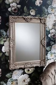 stretton carved baroque style mirror