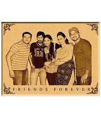 personalized gifts friendship day engraved photo on wood 12 x 9 personalized gifts friendship day engraved photo on wood 12 x 9 at best