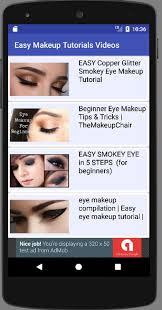 easy makeup tutorials video screenshot 16