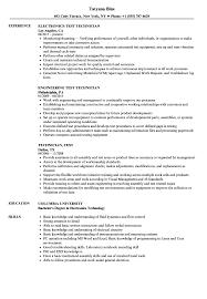 Electronics Technician Resume Samples Vocation Electronic Resume Samples Modern Design Of Wiring Diagram