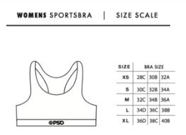 Psd Underwear Size Chart Psd Underwear Australia