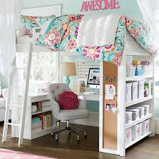 loft beds for girls. sturdy, stylish and fun to decorate, our greenguard gold certified sleep + study loft bed has everything you need in one charming package. beds for girls pinterest