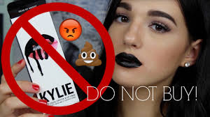 never kylie cosmetics lip kits from aliexpress worst fakeup ever jordan byers you