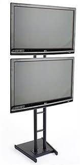 Flat Screen Display Stand Magnificent Flat Screen TV Racks Dual Monitor Stand For Windows Storefronts