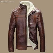 fall new winter warm mens genuine leather jacket men retro brown sheepskin fur coat man wool liner shearling jackets and coats by yinglan