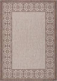 the country side collection of indoor outdoor area rugs from nourison is flat woven from a wonderful 100 polypropylene for a splendid tone and texture