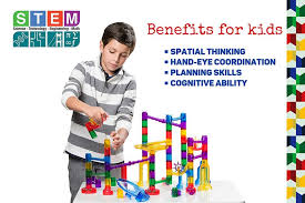 not seem like a stem toy they re too cool but they re a great toy for developing building and problem solving skills it s a fun toy for a 5 year old