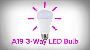 3 way led bulb led vs incandescent 3 way light output
