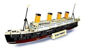 rms titanic woodcraft quay construction wooden 3d model kit p396 age 9 plus