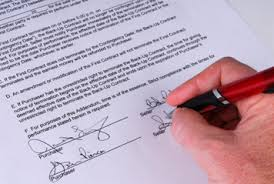 Making An Auto Sales Contract | Dmv.org