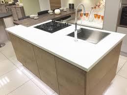 Kitchen Island Sink Modern Kitchen Island With Hob Sink And Breakfast Bar Area Www