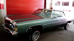 1971 Impala Caprice 400 Continental Kit Chrome Grill Hydrolics ...