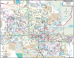 phoenix area map