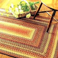 french country area rugs style round braided large primitive with stars