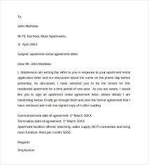 sample rental agreement letter rental agreement letter jvwithmenow com