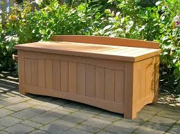wooden storage bench outdoor amazing of outdoor bench with storage affordable outdoor wood storage bench storage