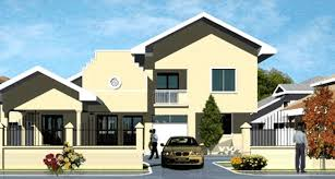Ghana House Plans   Propertiesnii house plan front