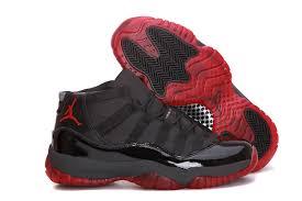 jordans 11 vendre nike air force. 2013 Latest Retro Air Jordan 11 Mens Sneakers In Black With Red Sole Cheap Jordans Vendre Nike Force
