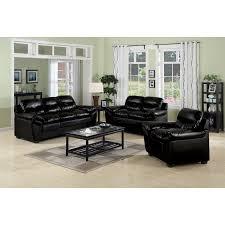 Modest Decoration Black Leather Living Room Sets Stylish Idea - All leather sofa sets