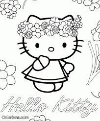 Kleurplaten Hello Kitty Met Paard Archidev Kleurplaat Kitty