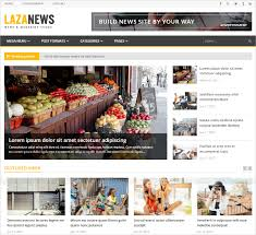 Newspaper Website Template Free Download Bootstrap News Template Magdalene Project Org