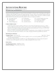 Resume Examples For Accounting Professionals Best Of Samples Of Accounting Resume Resume Samples For Accounting Executive
