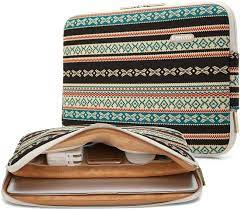 Buy Kayond Canvas Water-Resistant 13 inch Laptop Sleeve -13 inch 13.3 inch Laptop  case,12.9 inch Tablet Case Compatible MacBook(13-13.3 inches, New Bohemian)  Online in Taiwan. B01HME8ZNU