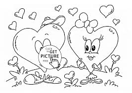 Small Picture love heart coloring pages valentines day heart coloring pages