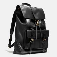 coach bleecker backpack book bag rucksack in leather 70786 retail 698 nwt