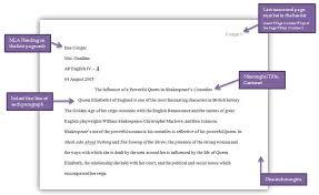 english iii com mla format example
