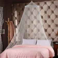 Details about Round Dome Canopies Bed Canopy Netting Curtain Midges Insect Mesh Mosquito Net
