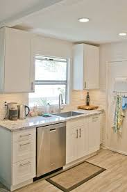Top Best 25 Small White Kitchens Ideas On Pinterest Small Kitchens Within Small  Kitchen White Cabinets Ideas