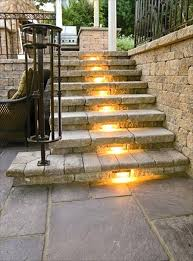 interior step lighting. Awesome Exterior Step Lights And Outdoor Stairs Lighting Interior Design 36 Solar Patio . Unique