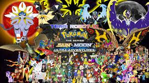 Pokemon Sun And Moon Ultra Adventures Wallpaper
