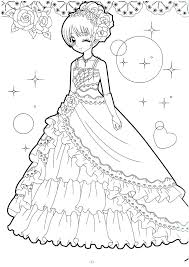 Anime Coloring Pages Easy People Coloring Pages Cool Coloring Pages