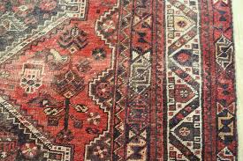 old south west persian shiraz qashqai tribal rug with medallions and birds design 220 x 150 cm