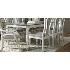 Antique White Dining Room Simple Design Inspiration